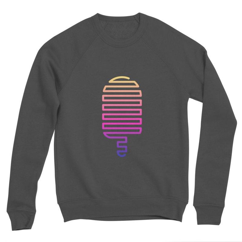 Linear Ice Cream T-shirt Men's Sponge Fleece Sweatshirt by MadeByBono