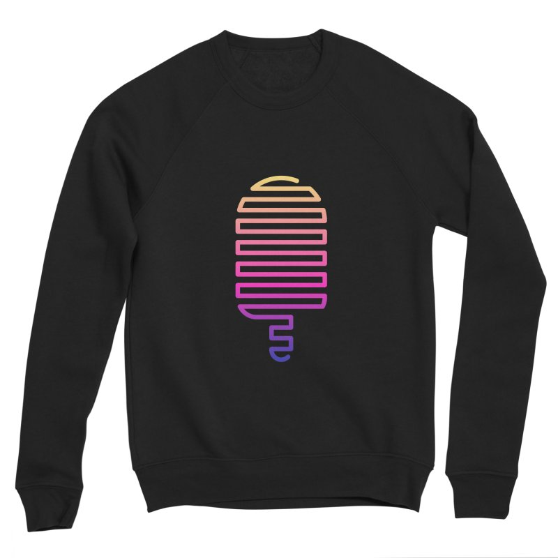 Linear Ice Cream T-shirt Men's Sponge Fleece Sweatshirt by MadeByBono
