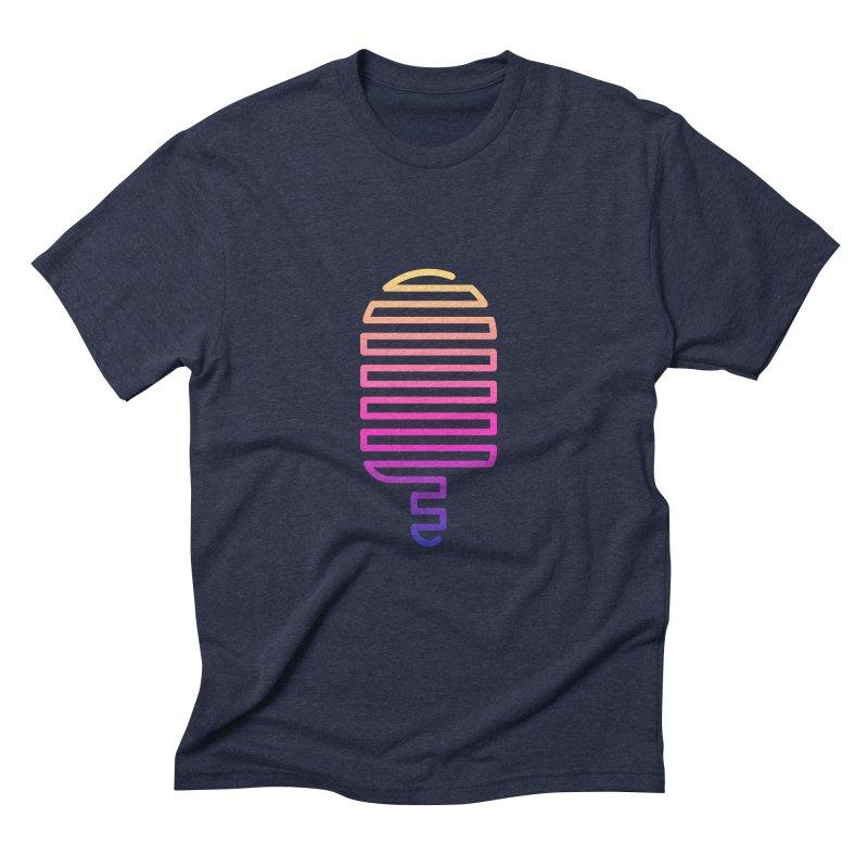 Linear Ice Cream T-shirt Men's T-Shirt by MadeByBono