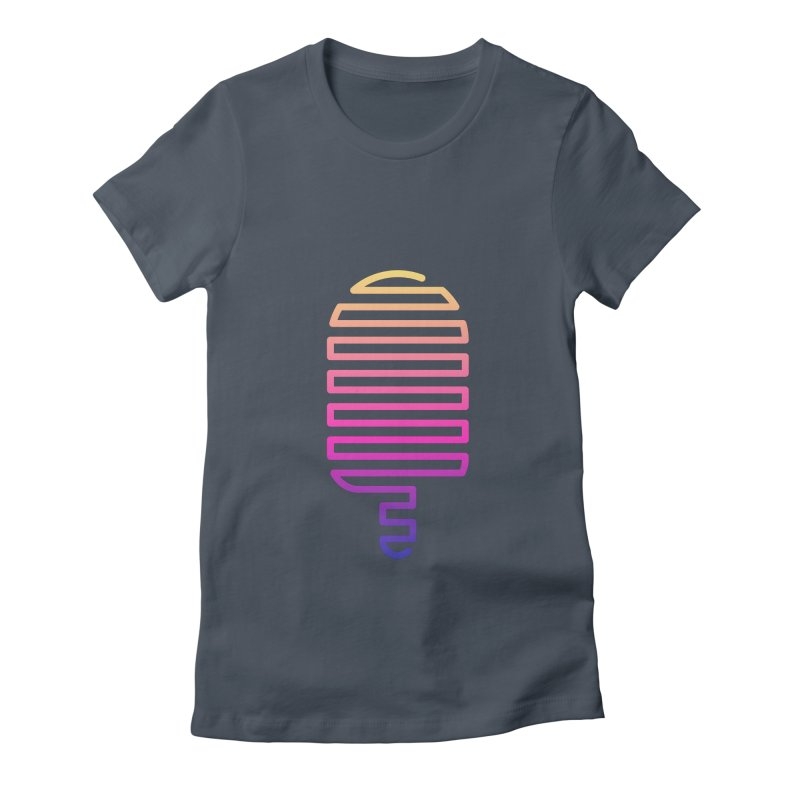 Linear Ice Cream T-shirt Women's T-Shirt by MadeByBono