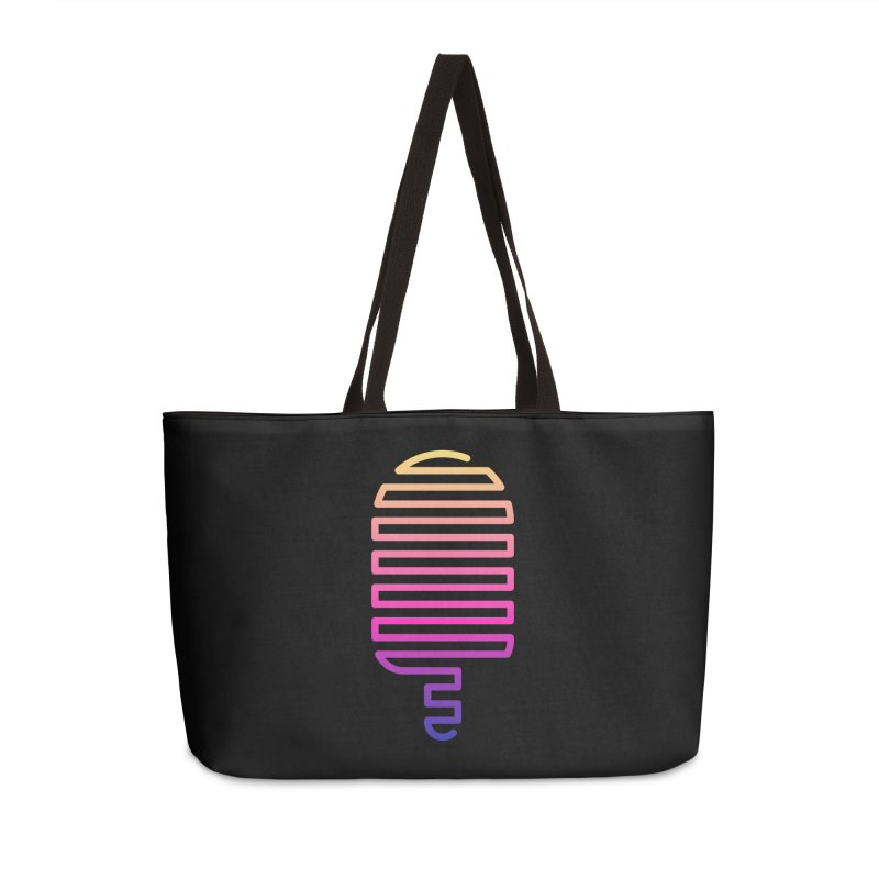 Linear Ice Cream T-shirt Accessories Weekender Bag Bag by MadeByBono