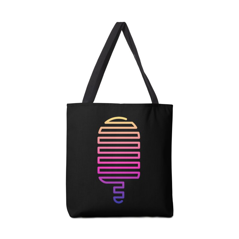 Linear Ice Cream T-shirt Accessories Tote Bag Bag by MadeByBono
