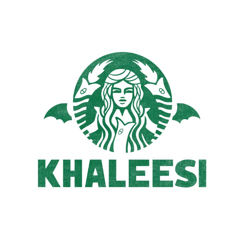 Cup of Khaleesi Men's Longsleeve T-Shirt by Made With Awesome
