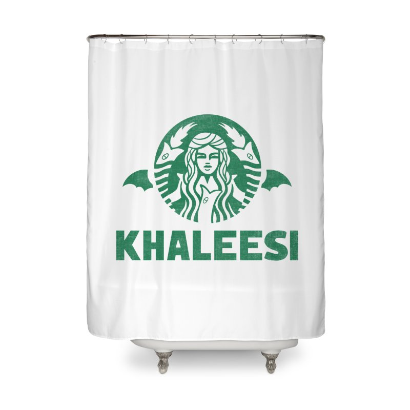 Cup of Khaleesi Home Shower Curtain by Made With Awesome
