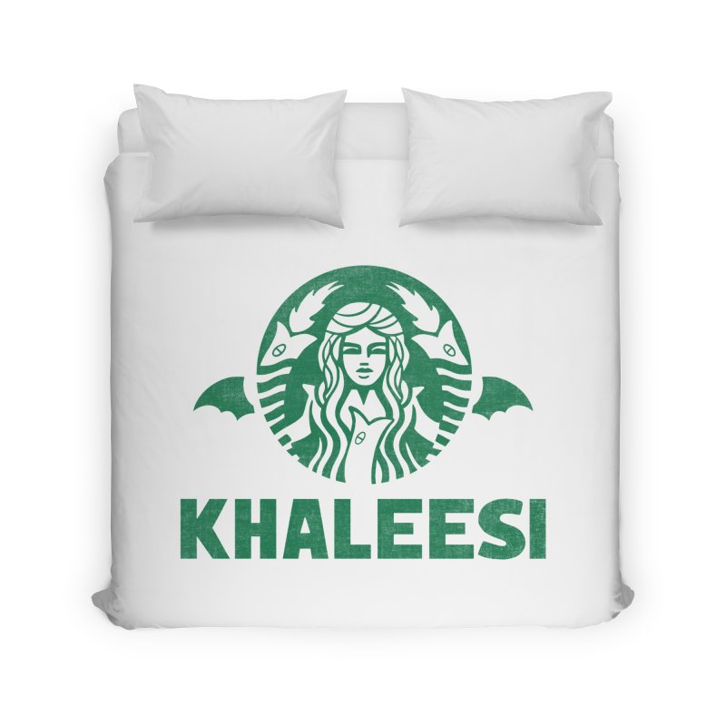 Cup of Khaleesi Home Duvet by Made With Awesome