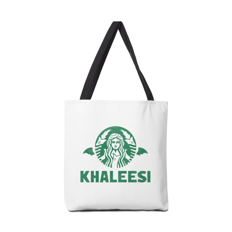 Cup of Khaleesi Accessories Tote Bag Bag by Made With Awesome