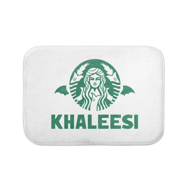Cup of Khaleesi Home Bath Mat by Made With Awesome