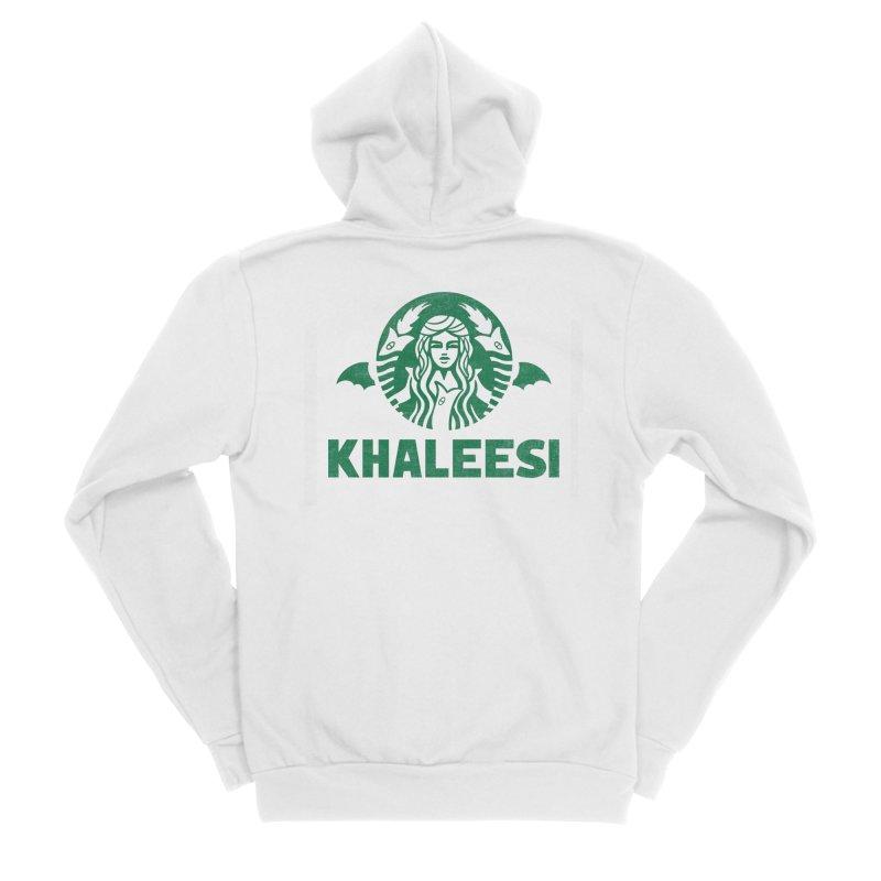 Cup of Khaleesi Men's Sponge Fleece Zip-Up Hoody by Made With Awesome