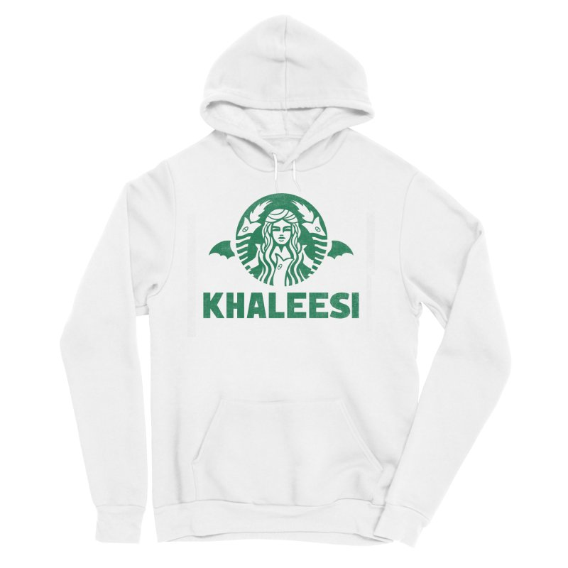 Cup of Khaleesi Men's Sponge Fleece Pullover Hoody by Made With Awesome