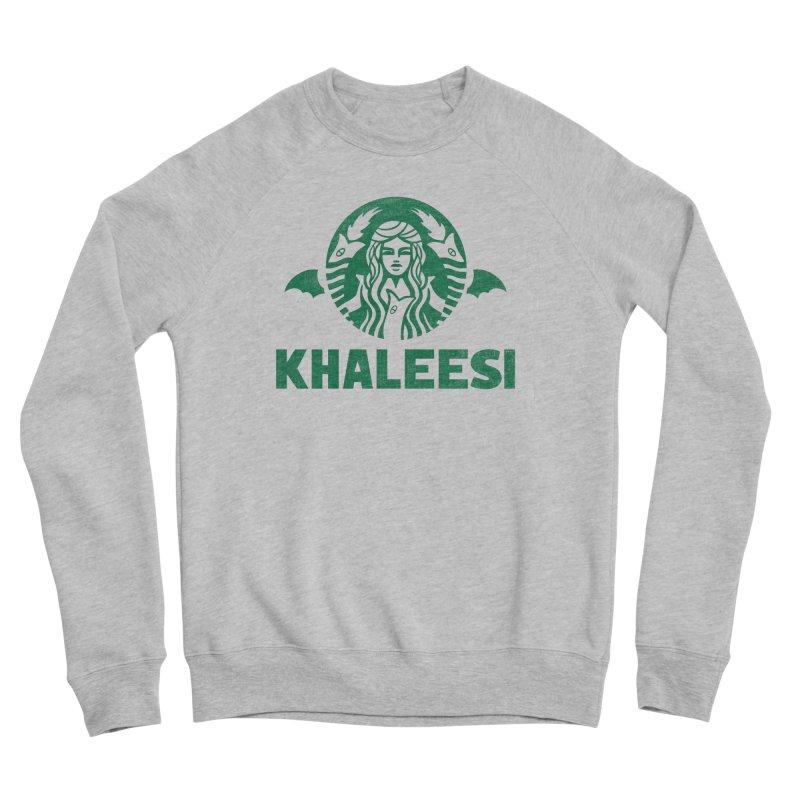 Cup of Khaleesi Men's Sponge Fleece Sweatshirt by Made With Awesome