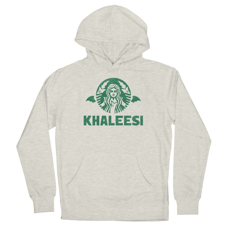 Cup of Khaleesi Men's French Terry Pullover Hoody by Made With Awesome