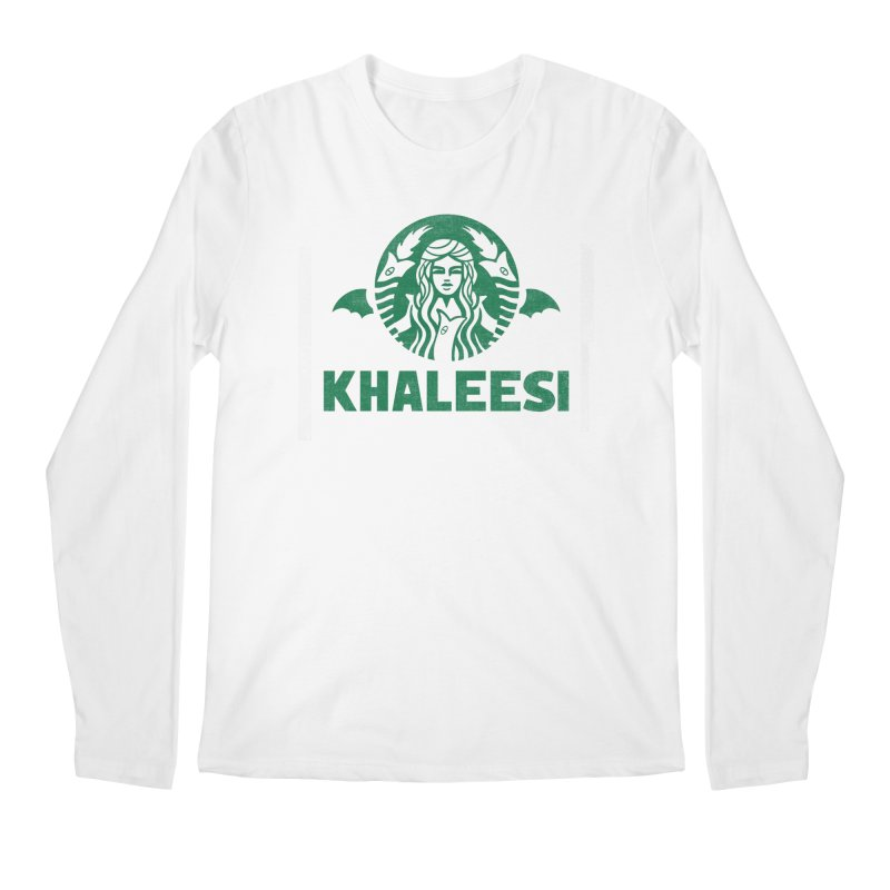 Cup of Khaleesi Men's Regular Longsleeve T-Shirt by Made With Awesome