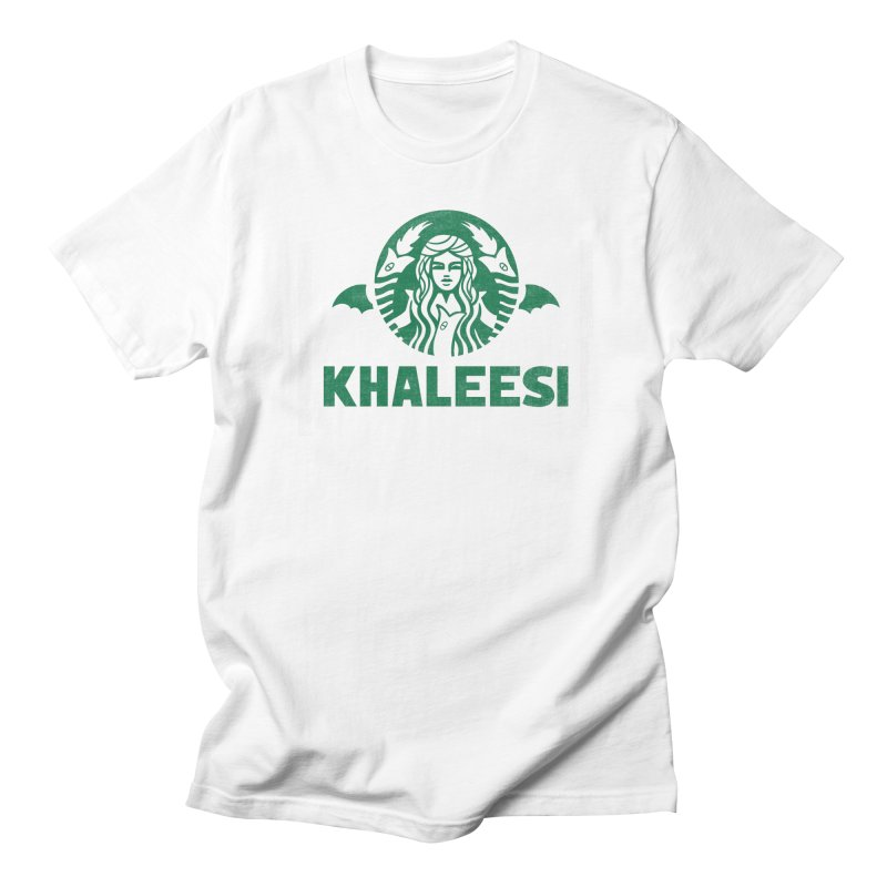 Cup of Khaleesi Men's Regular T-Shirt by Made With Awesome