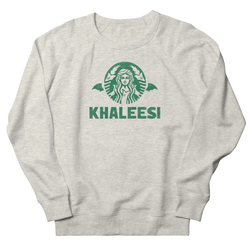 Cup of Khaleesi Men's French Terry Sweatshirt by Made With Awesome