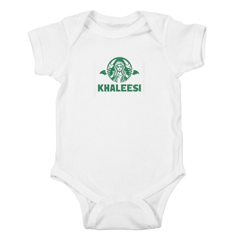 Cup of Khaleesi Kids Baby Bodysuit by Made With Awesome