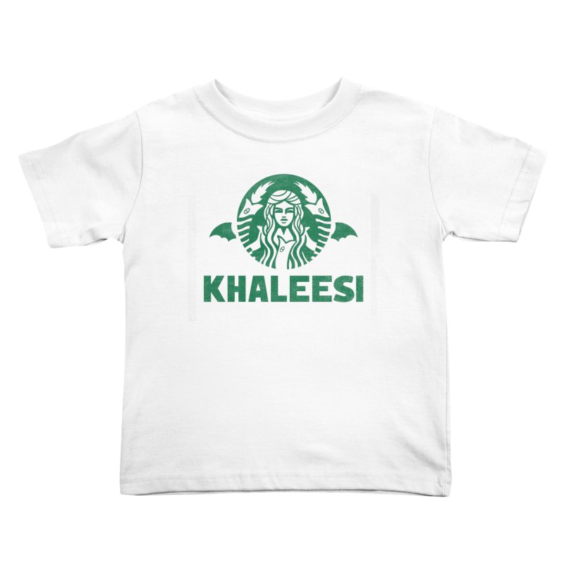 Cup of Khaleesi Kids Toddler T-Shirt by Made With Awesome
