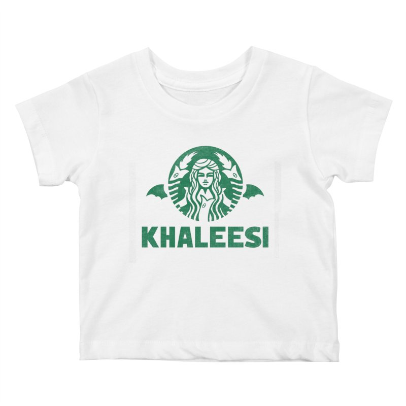 Cup of Khaleesi Kids Baby T-Shirt by Made With Awesome