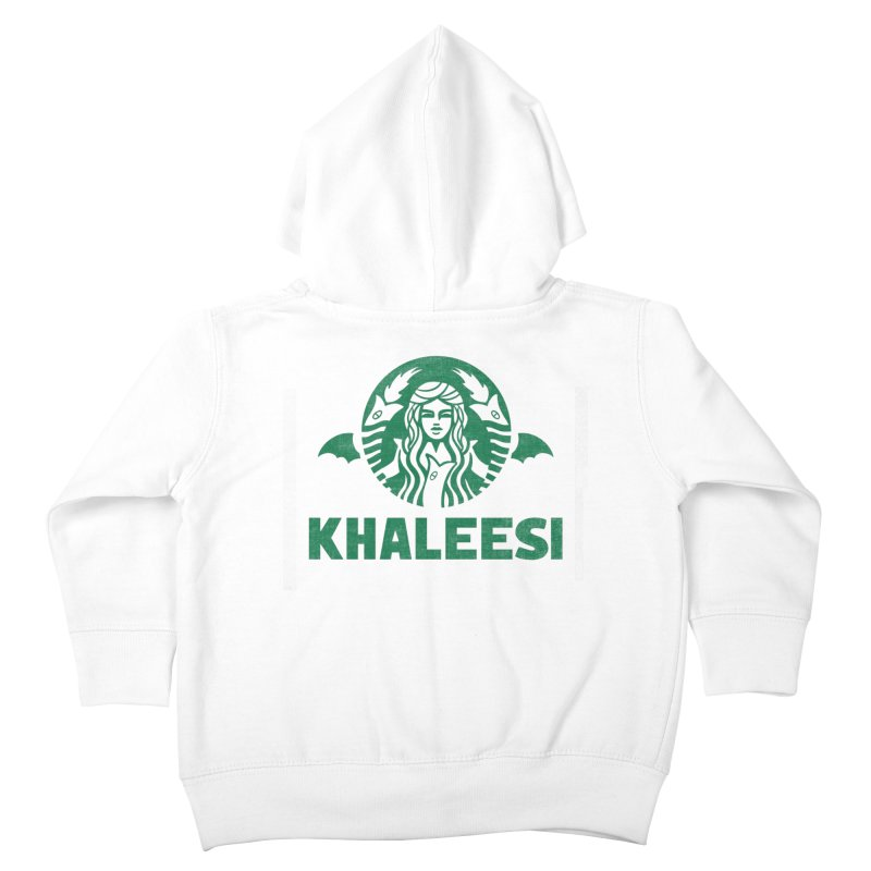 Cup of Khaleesi Kids Toddler Zip-Up Hoody by Made With Awesome