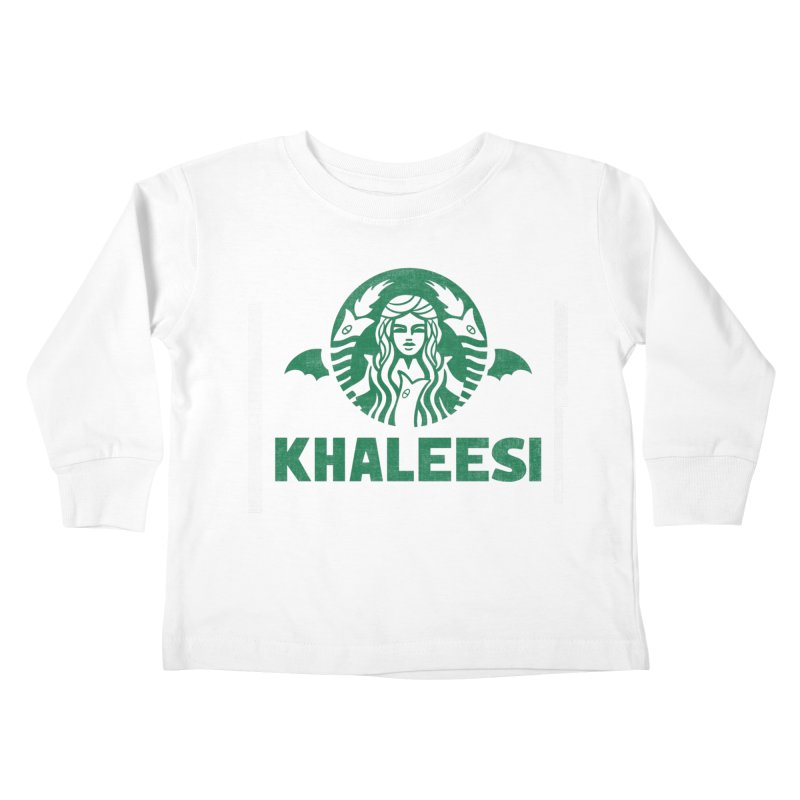 Cup of Khaleesi Kids Toddler Longsleeve T-Shirt by Made With Awesome