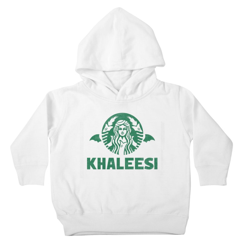 Cup of Khaleesi Kids Toddler Pullover Hoody by Made With Awesome