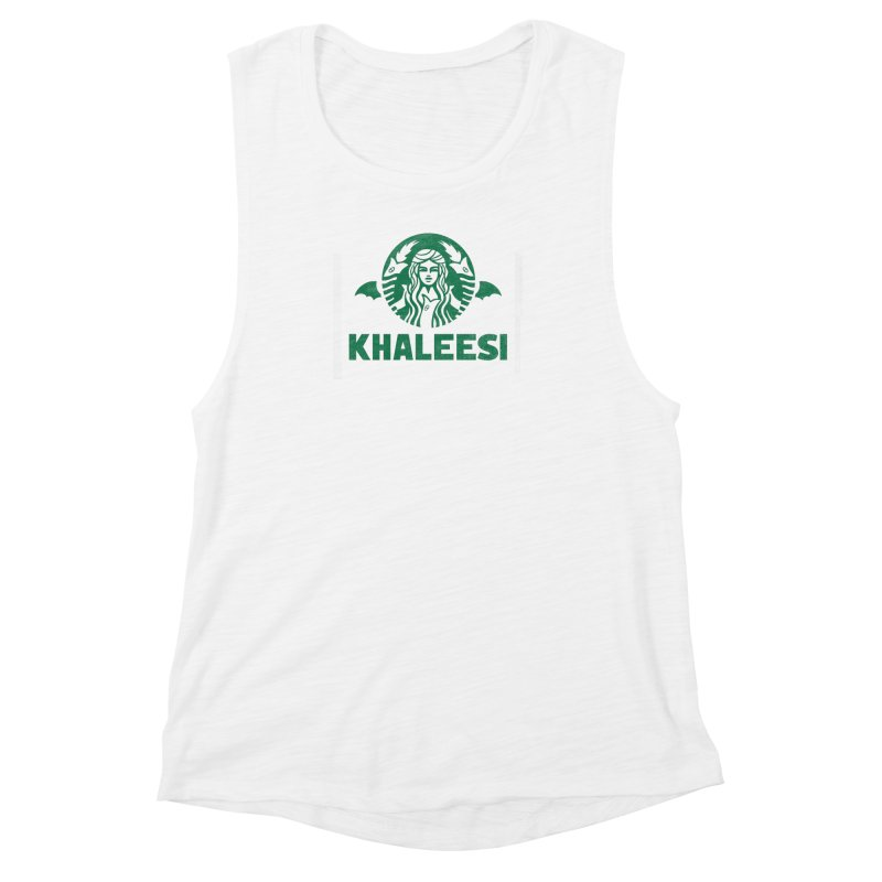 Cup of Khaleesi Women's Muscle Tank by Made With Awesome