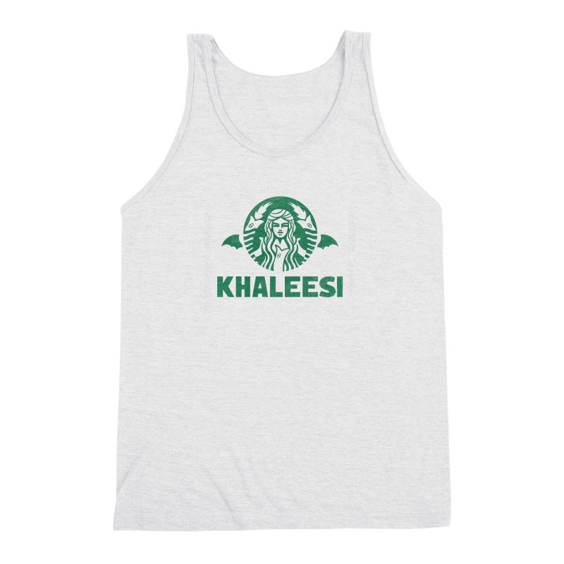 Cup of Khaleesi Men's Triblend Tank by Made With Awesome