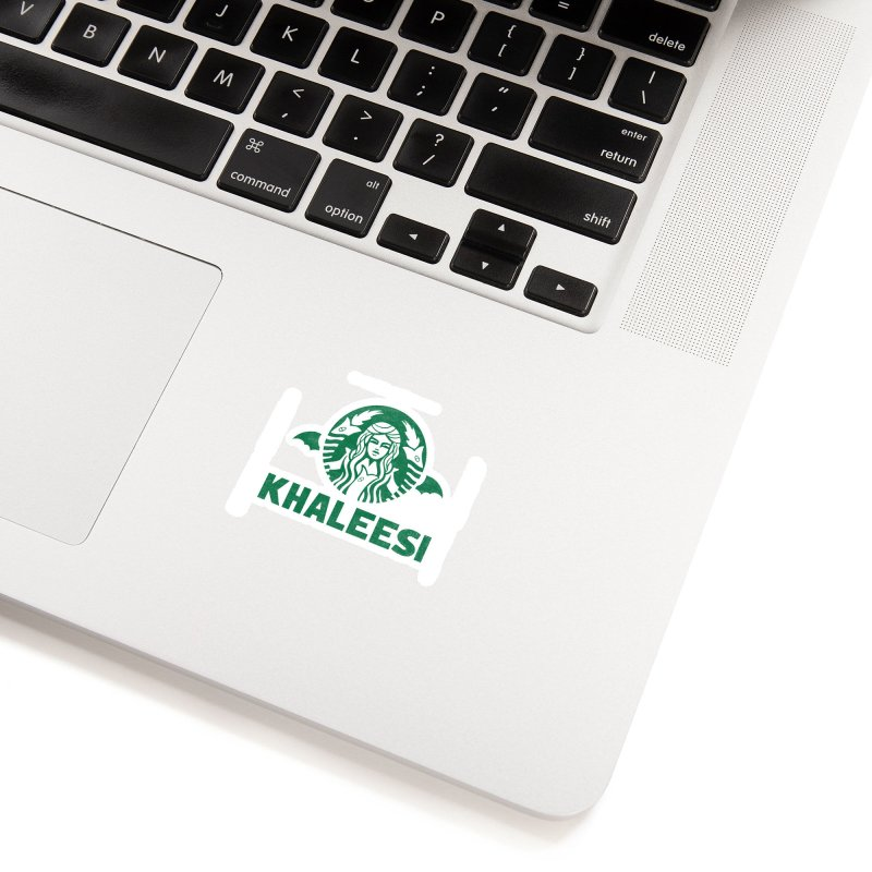 Cup of Khaleesi Accessories Sticker by Made With Awesome