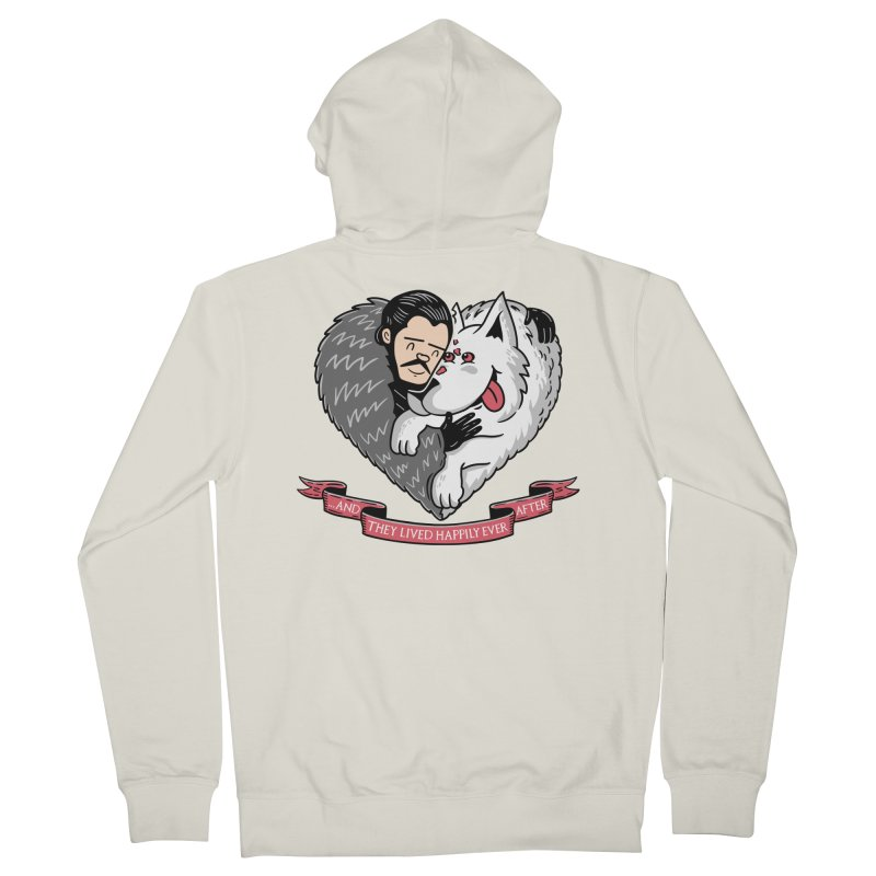 GOT Each Other Women's French Terry Zip-Up Hoody by Made With Awesome
