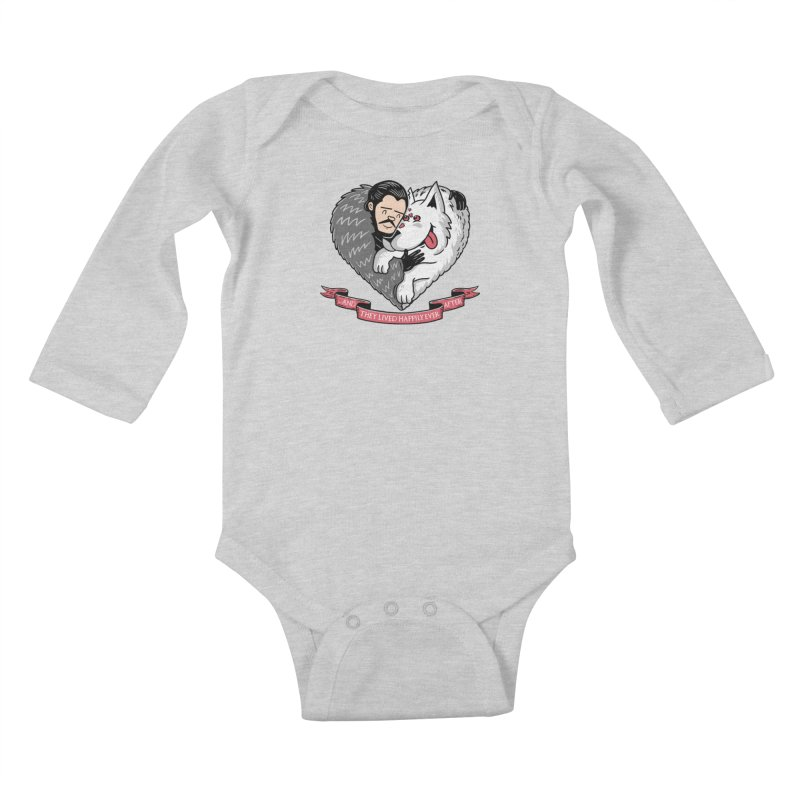GOT Each Other Kids Baby Longsleeve Bodysuit by Made With Awesome
