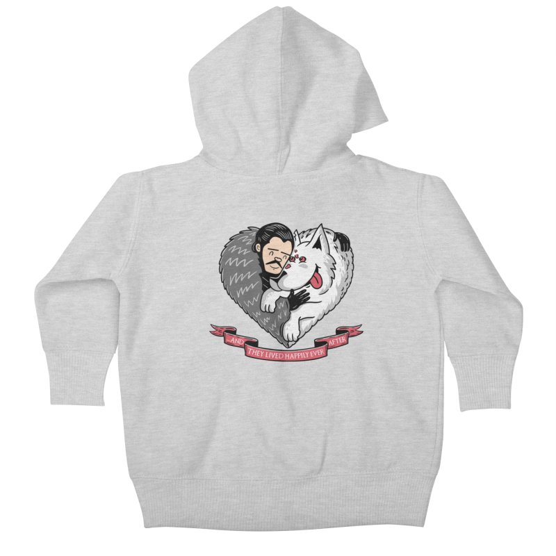 GOT Each Other Kids Baby Zip-Up Hoody by Made With Awesome