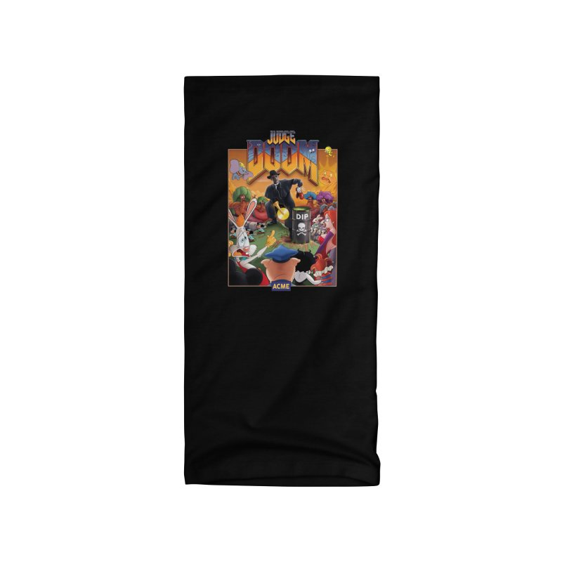 Judge DOOM Accessories Neck Gaiter by Made With Awesome