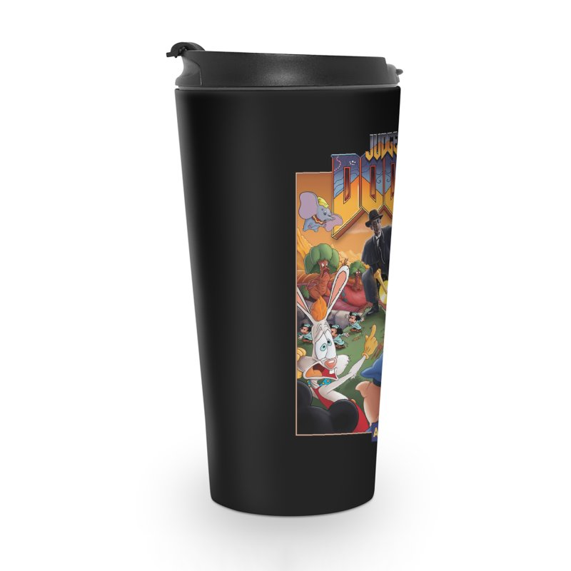 Judge DOOM Accessories Travel Mug by Made With Awesome
