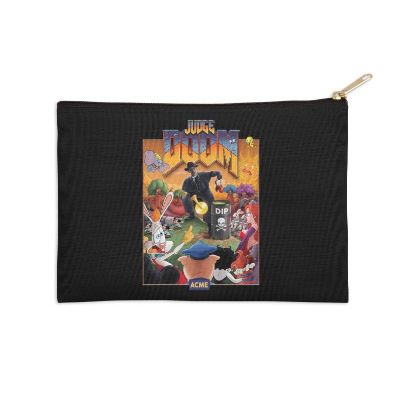 Judge DOOM Accessories Zip Pouch by Made With Awesome