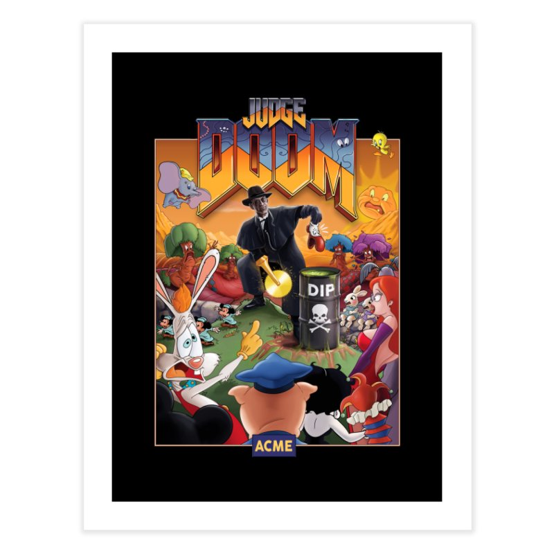 Judge DOOM Home Fine Art Print by Made With Awesome