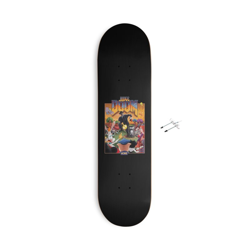 Judge DOOM Accessories With Hanging Hardware Skateboard by Made With Awesome