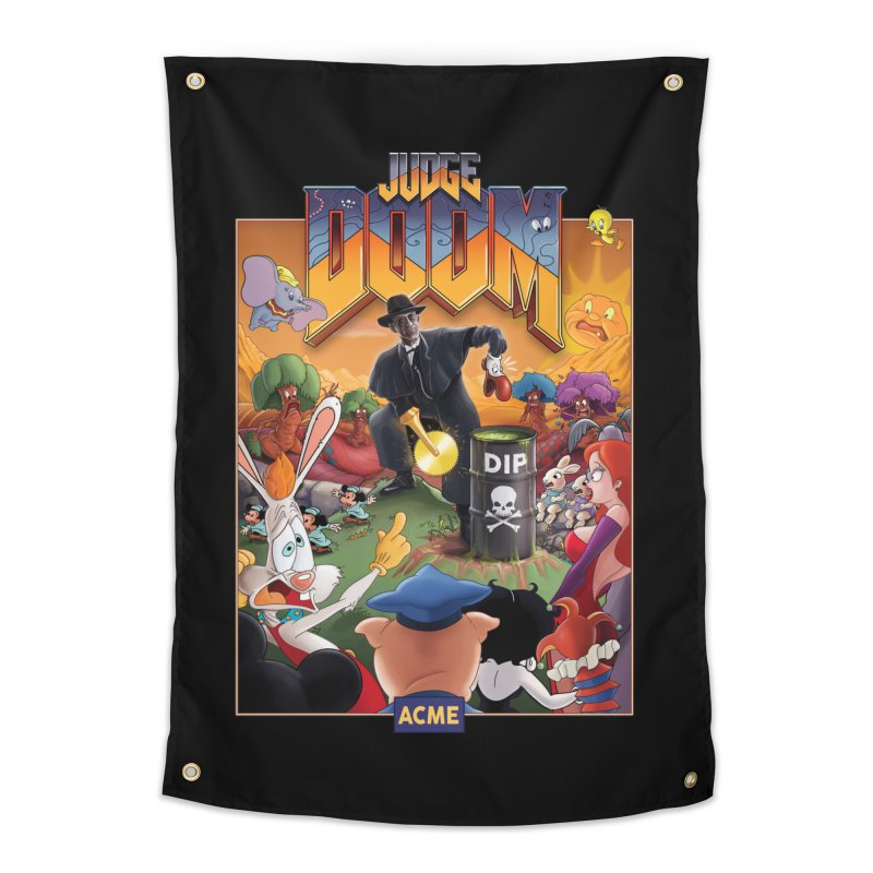 Judge DOOM Home Tapestry by Made With Awesome