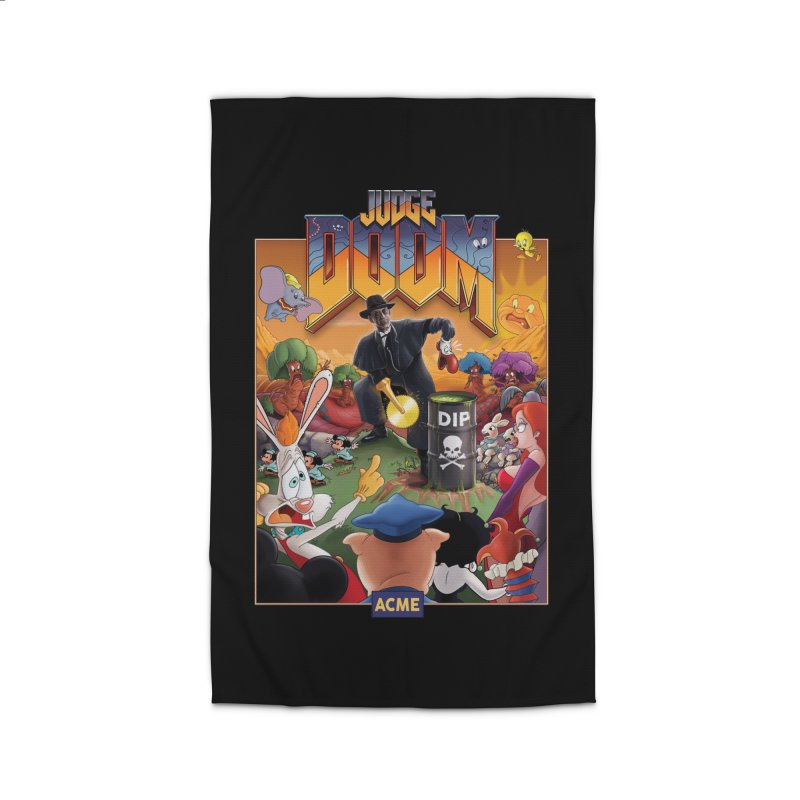 Judge DOOM Home Rug by Made With Awesome