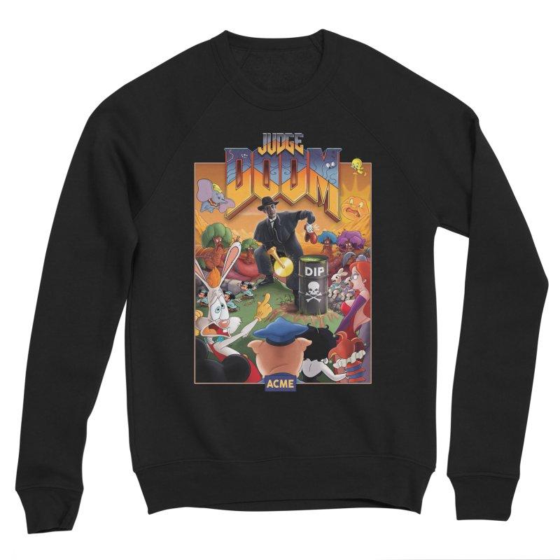 Judge DOOM Men's Sponge Fleece Sweatshirt by Made With Awesome