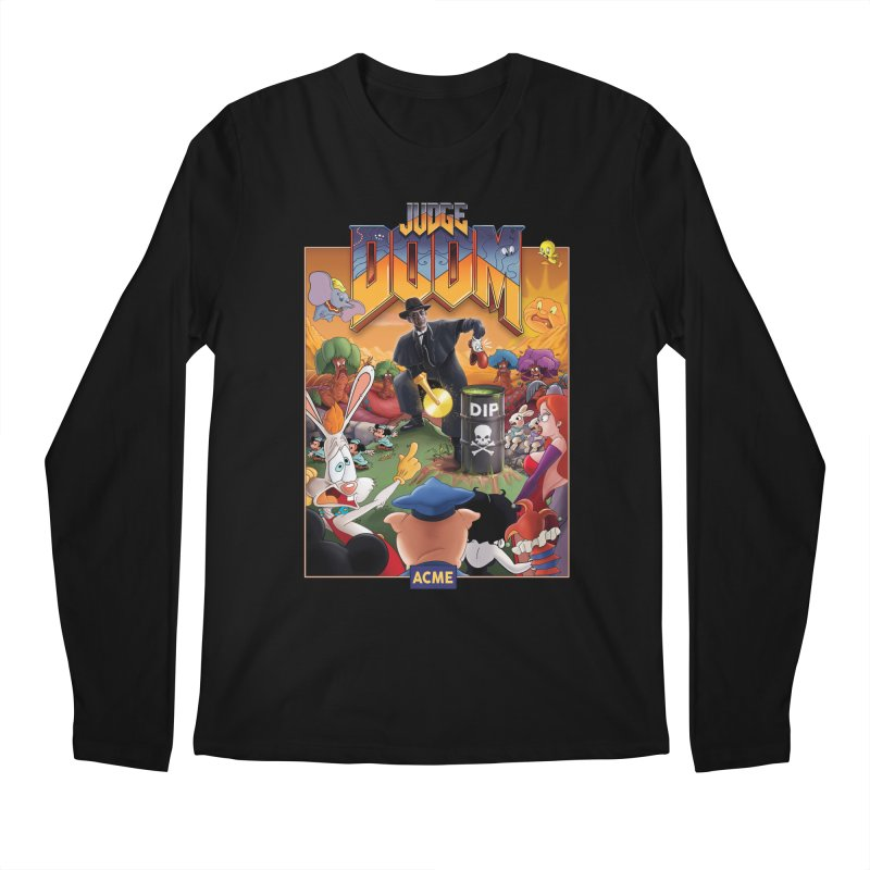 Judge DOOM Men's Regular Longsleeve T-Shirt by Made With Awesome