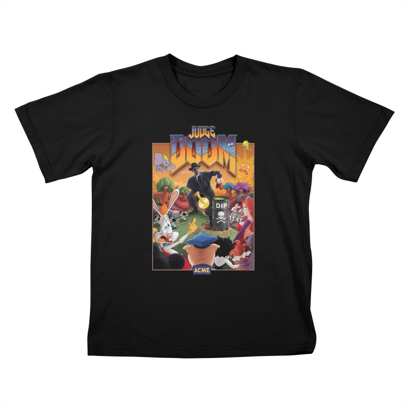 Judge DOOM Kids T-Shirt by Made With Awesome