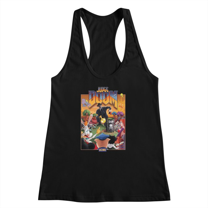 Judge DOOM Women's Racerback Tank by Made With Awesome