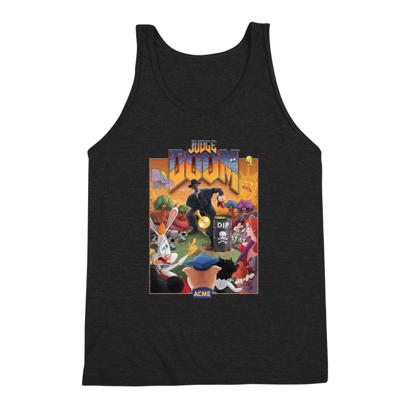 Judge DOOM Men's Triblend Tank by Made With Awesome