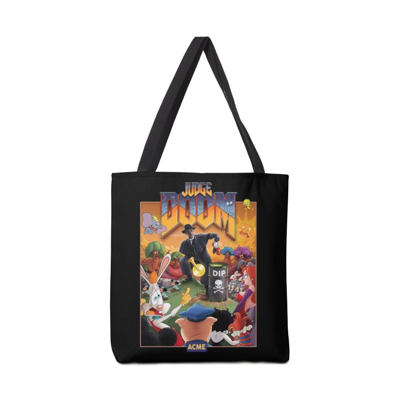 Judge DOOM Accessories Tote Bag Bag by Made With Awesome