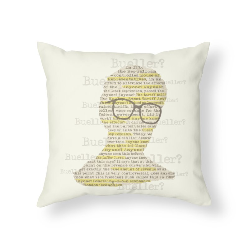 Anyone, Anyone Home Throw Pillow by Made With Awesome