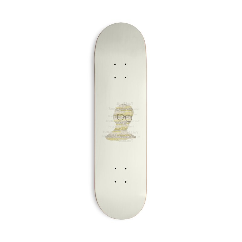 Anyone, Anyone Accessories Deck Only Skateboard by Made With Awesome