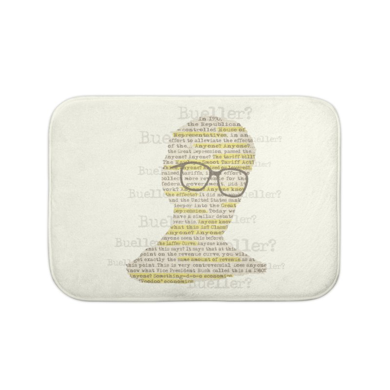 Anyone, Anyone Home Bath Mat by Made With Awesome