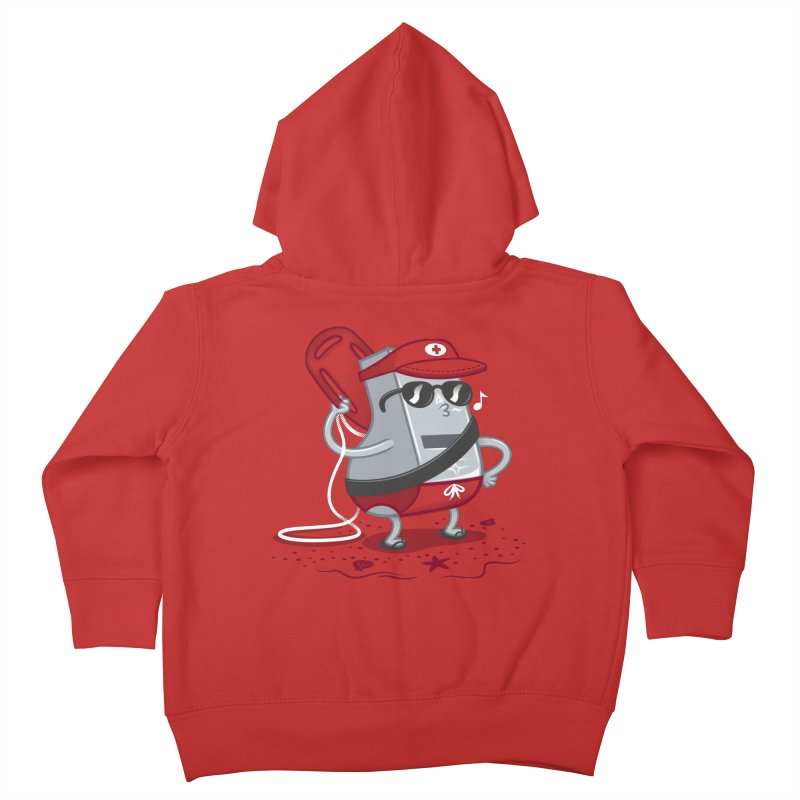 Whistle While You Work Kids Toddler Zip-Up Hoody by Made With Awesome