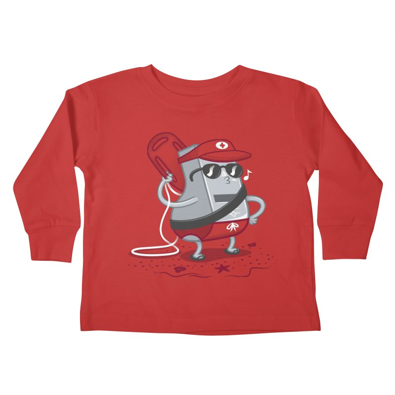 Whistle While You Work Kids Toddler Longsleeve T-Shirt by Made With Awesome