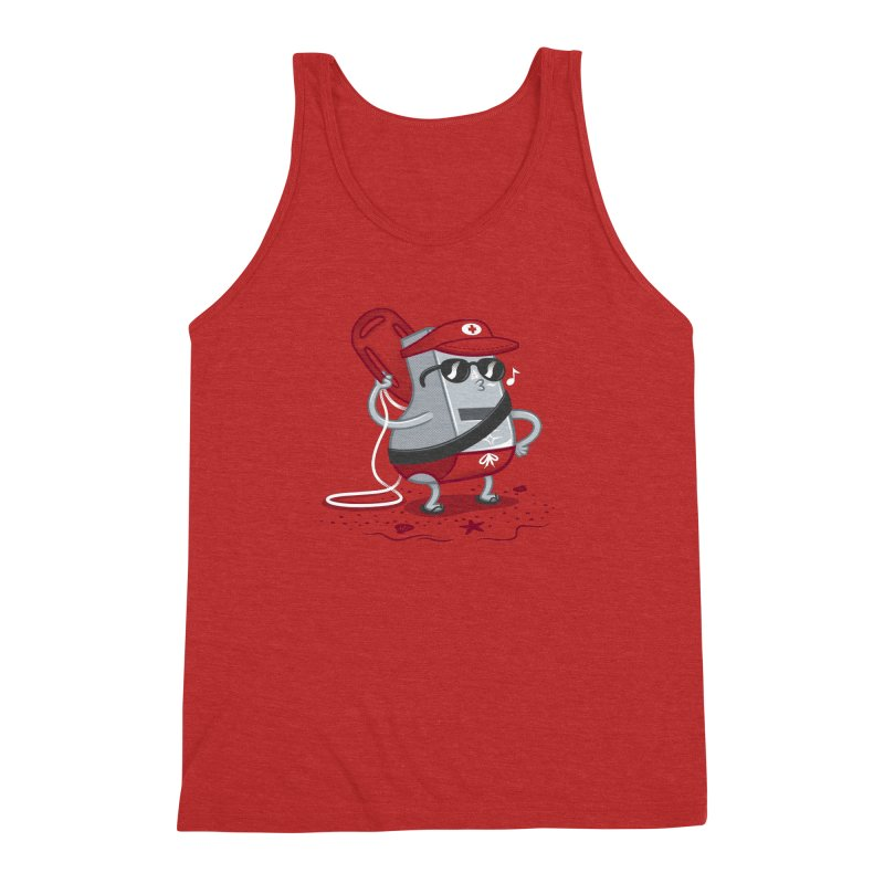 Whistle While You Work Men's Triblend Tank by Made With Awesome