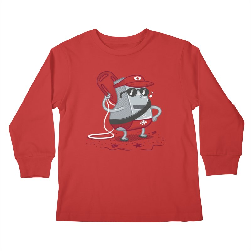 Whistle While You Work Kids Longsleeve T-Shirt by Made With Awesome